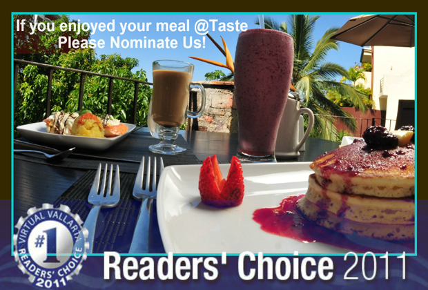 Taste Restaurant Casa Cupula Readers Choice Vallarta