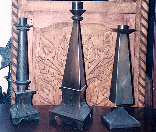 Candle Holders - Gregorio Juarez Sanchez