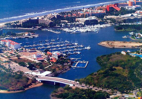 Marina Nayarit Aerial View