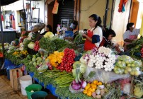 Tepoztlan Mexico Fruit and Vegetable Market
