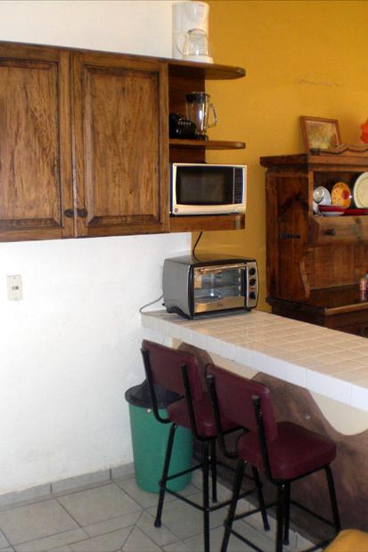 Casa Las Palmas Barra de Navidad Kitchen