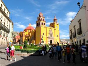 Baroque Basilica de Nuestra Senora de Guanajuato