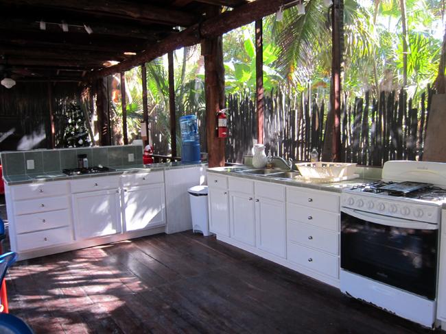 Communal Kitchen - Las Palmas Maya