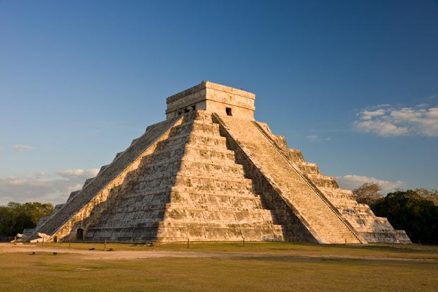 Pyramide des Kukulcán in Chichén Itzá