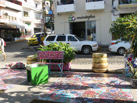 Public art in Puerto Vallarta Feb 2013