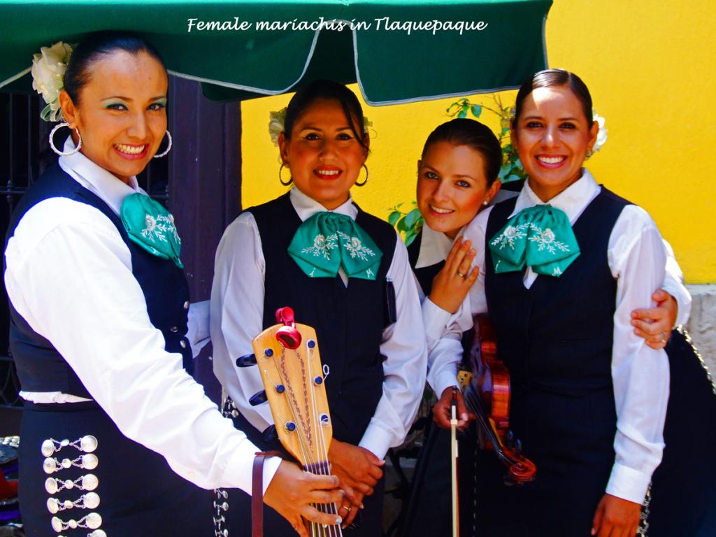 Female Mariachi Singers -Tlaquepaque