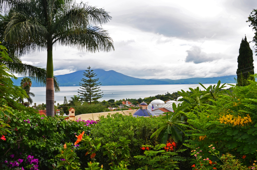 View of Lake Chapala and Ajijic