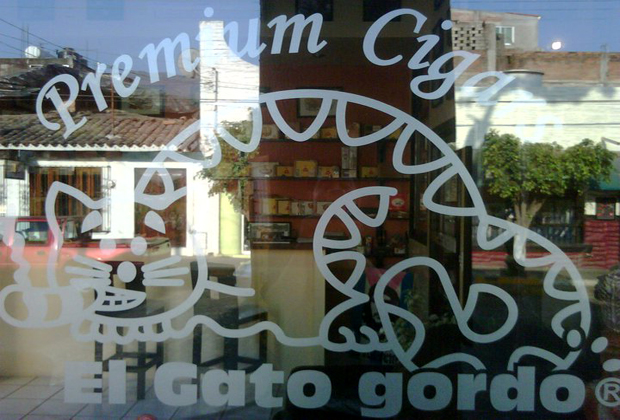 El Gato Gordo Fat Cat Cigar Shop Mexico